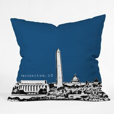 Bird Ave Washington Woven Polyester Throw Pillow