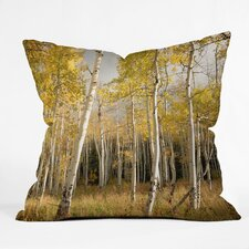 <strong>DENY Designs</strong> Bird Wanna Whistle Aspen Woven Polyester Throw Pillow
