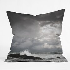 Bird Wanna Whistle Water Woven Polyester Throw Pillow