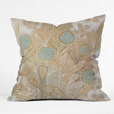 <strong>DENY Designs</strong> Cori Dantini Floral Woven Polyester Throw Pillow