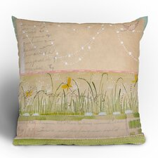 Cori Dantini Horizontal Woven Polyester Throw Pillow