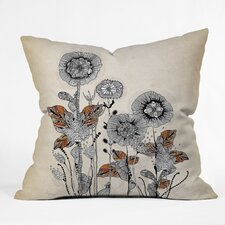 <strong>DENY Designs</strong> Iveta Abolina Floral 3 Woven Polyester Throw Pillow