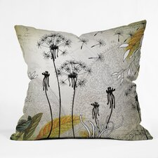 <strong>DENY Designs</strong> Iveta Abolina Little Dandelion Woven Polyester Throw Pillow