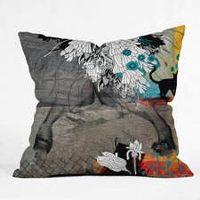Iveta Abolina Stay Awhile Woven Polyester Throw Pillow