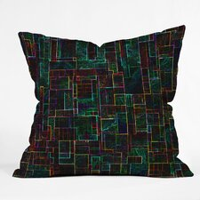 Jacqueline Maldonado Matrix Indoor / Outdoor Polyester Throw Pillow