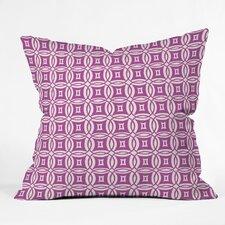 Khristian A Howell Desert Twilight Woven Polyester Throw Pillow