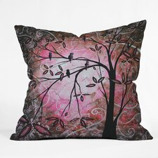 <strong>DENY Designs</strong> Madart Inc  Blossoms Indoor / Outdoor Polyester Throw Pillow