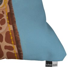 <strong>DENY Designs</strong> Mandy Hazell Gentleman Giraffe Throw Pillow