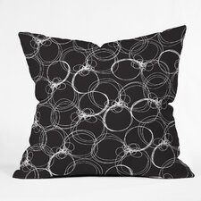 <strong>DENY Designs</strong> Rachael Taylor Circles Indoor / Outdoor Polyester Throw Pillow