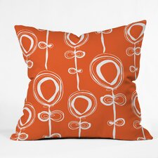 Rachael Taylor Contemporary Indoor/Outdoor Polyester Throw Pillow