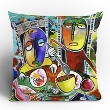 <strong>DENY Designs</strong> Robin Faye Gates I Should Give Relish a Try Polyester Throw Pillow