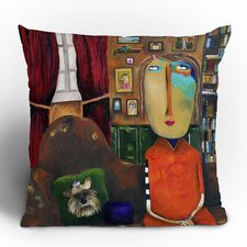 <strong>DENY Designs</strong> Robin Faye Gates with Bebe Polyester Throw Pillow