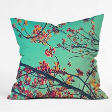 Shannon Clark Summer Bloom Polyester Throw Pillow
