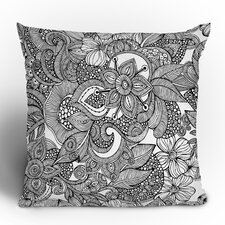 Valentina Ramos Doodles Polyester Throw Pillow