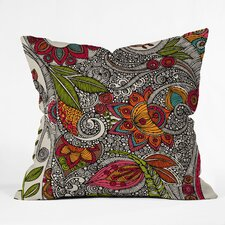 Valentina Ramos Random Flowers Indoor/Outdoor Polyester Throw Pillow