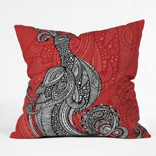 Valentina Ramos The Bird Indoor/Outdoor Polyester Throw Pillow