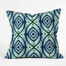 <strong>DENY Designs</strong> Wagner Campelo Maranta Indoor/Outdoor Polyester Throw Pillow