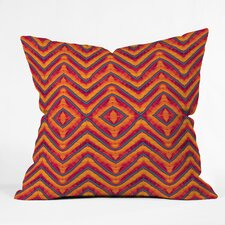 Wagner Campelo Sanchezia 1 Indoor/Outdoor Polyester Throw Pillow