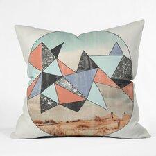 Wesley Bird Dry Spell Indoor/Outdoor Polyester Throw Pillow
