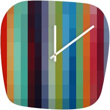 Madart Inc. City Colors Clock