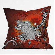 Iveta Abolina Wild Lilly Woven Polyester Throw Pillow