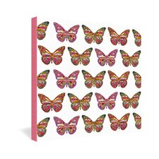 Butterflies Fly by Bianca Green Graphic Art on Canvas