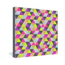 <strong>DENY Designs</strong> Bianca Green Ocean of Pyramid Gallery Wrapped Canvas