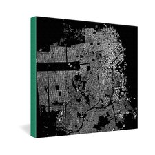 San Francisco by CityFabric Inc Graphic Art on Canvas