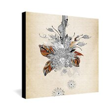 <strong>DENY Designs</strong> Iveta Abolina Floral 2 Gallery Wrapped Canvas