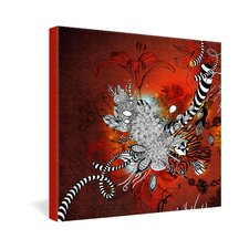 <strong>DENY Designs</strong> Iveta Abolina Wild Lilly Gallery Wrapped Canvas