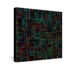 <strong>DENY Designs</strong> Jacqueline Maldonado Matrix Gallery Wrapped Canvas