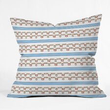 Jennifer Denty Anchor Small Indoor / Outdoor Polyester Throw Pillow