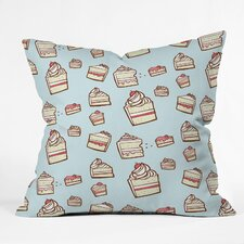 Jennifer Denty Cake Slices Indoor / Outdoor Polyester Throw Pillow