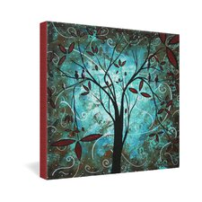 <strong>DENY Designs</strong> Madart Inc  Romantic Evening Gallery Wrapped Canvas