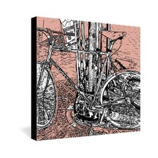 <strong>DENY Designs</strong> Romi Vega Bike Gallery Wrapped Canvas