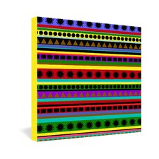 <strong>DENY Designs</strong> Romi Vega Heavy Pattern Gallery Wrapped Canvas