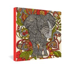 <strong>DENY Designs</strong> Valentina Ramos Bo The Elephant Gallery Wrapped Canvas