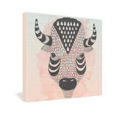<strong>DENY Designs</strong> Wesley Bird Buffy Gallery Wrapped Canvas