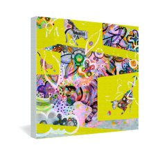 <strong>DENY Designs</strong> Randi Antonsen Cats 4 Gallery Wrapped Canvas