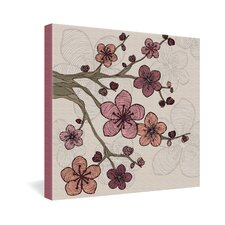 <strong>DENY Designs</strong> Valentina Ramos Blossom Gallery Wrapped Canvas