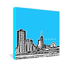 Chicago by Bird Ave Graphic Art on Canvas