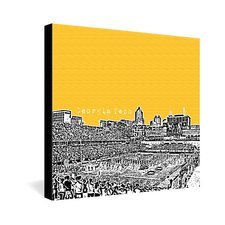 University by Bird Ave Graphic Art on Canvas