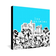 <strong>DENY Designs</strong> Bird Ave Los Angeles Gallery Wrapped Canvas