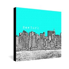 <strong>DENY Designs</strong> Bird Ave New York Gallery Wrapped Canvas