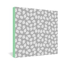 <strong>DENY Designs</strong> Bianca Green Leafy Gallery Wrapped Canvas