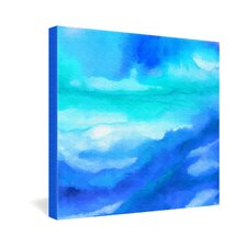 <strong>DENY Designs</strong> Jacqueline Maldonado Rise 2 Gallery Wrapped Canvas