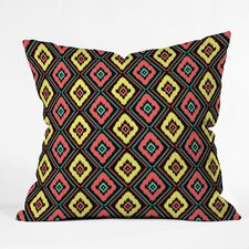 <strong>DENY Designs</strong> Jacqueline Maldonado Zig Zag Ikat Indoor / Outdoor Polyester Throw Pillow