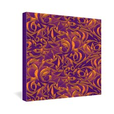 <strong>DENY Designs</strong> Wagner Campelo Abstract Garden 1 Gallery Wrapped Canvas
