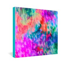 <strong>DENY Designs</strong> Amy Sia Leopard Gallery Wrapped Canvas