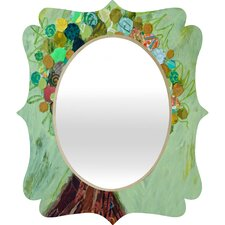 Elizabeth St Hilaire Nelson Spring Tree Quatrefoil Mirror
